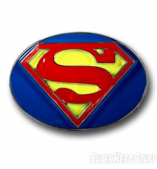 Superman 'Oval' Belt Buckle
